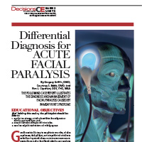 Differential Diagnosis for Acute Facial Paralysis CE