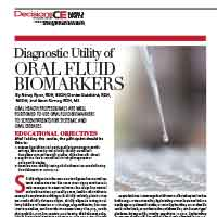 Diagnostic Utility of Oral Fluid Biomarkers CE cover